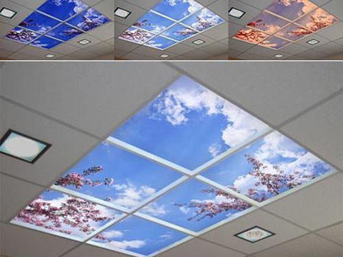 Как установить светильник в подвесной потолок: подсветка