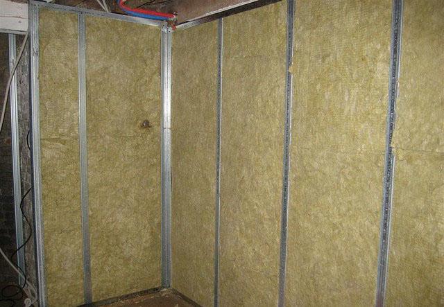 Стен натяжной шумоизоляция потолок и