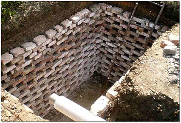 Выгребная яма без дна своими руками - устройство, варианты