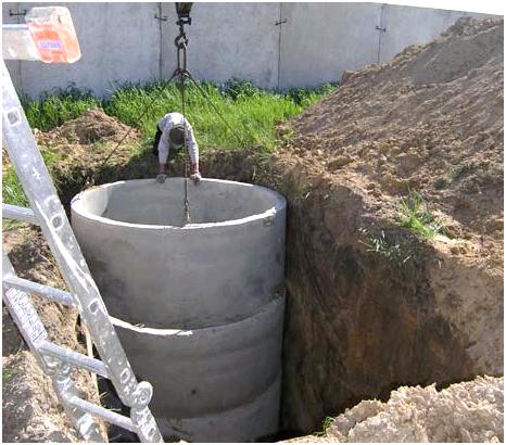 Как сделать выгребную яму из бетонных колец 52