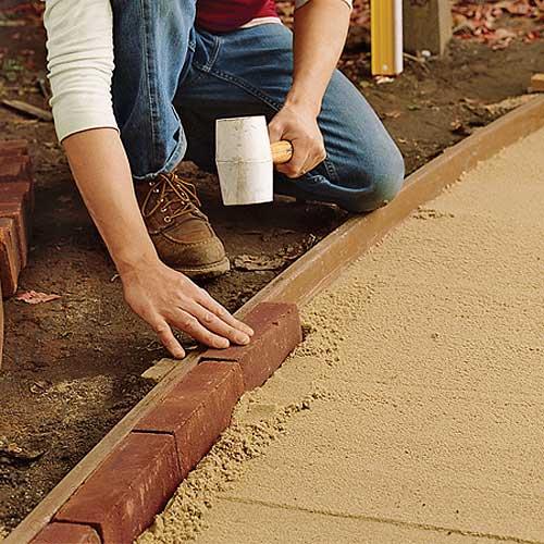 Как сделать садовая дорожка своими руками