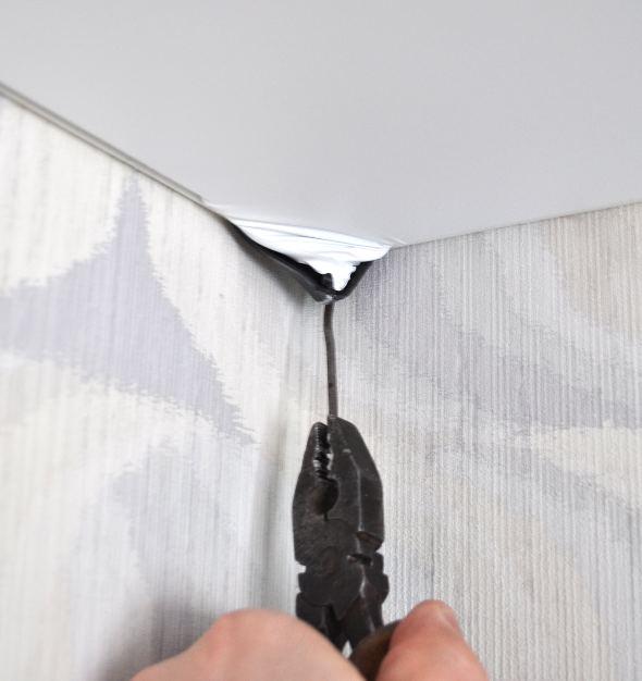 Как своими руками натянуть потолок