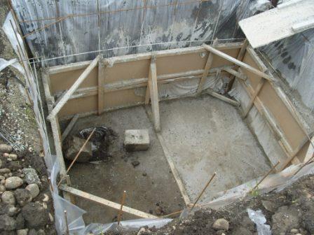 Заливка погреба бетоном своими руками 19