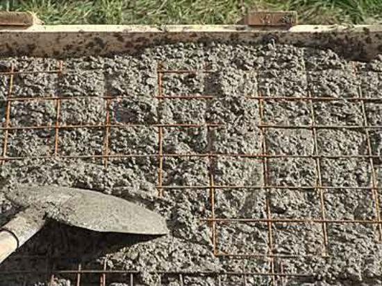 Фундамент под бетонное крыльцо