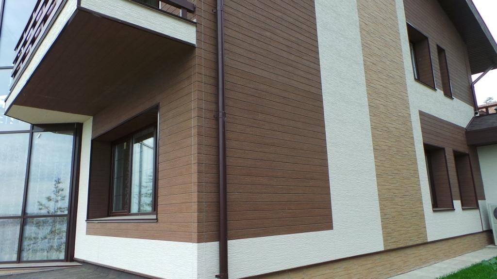 Наружная отделка фасадов частных домов материалы