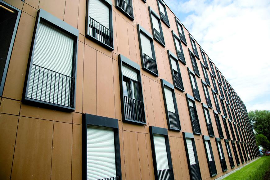 полимерные фасады
