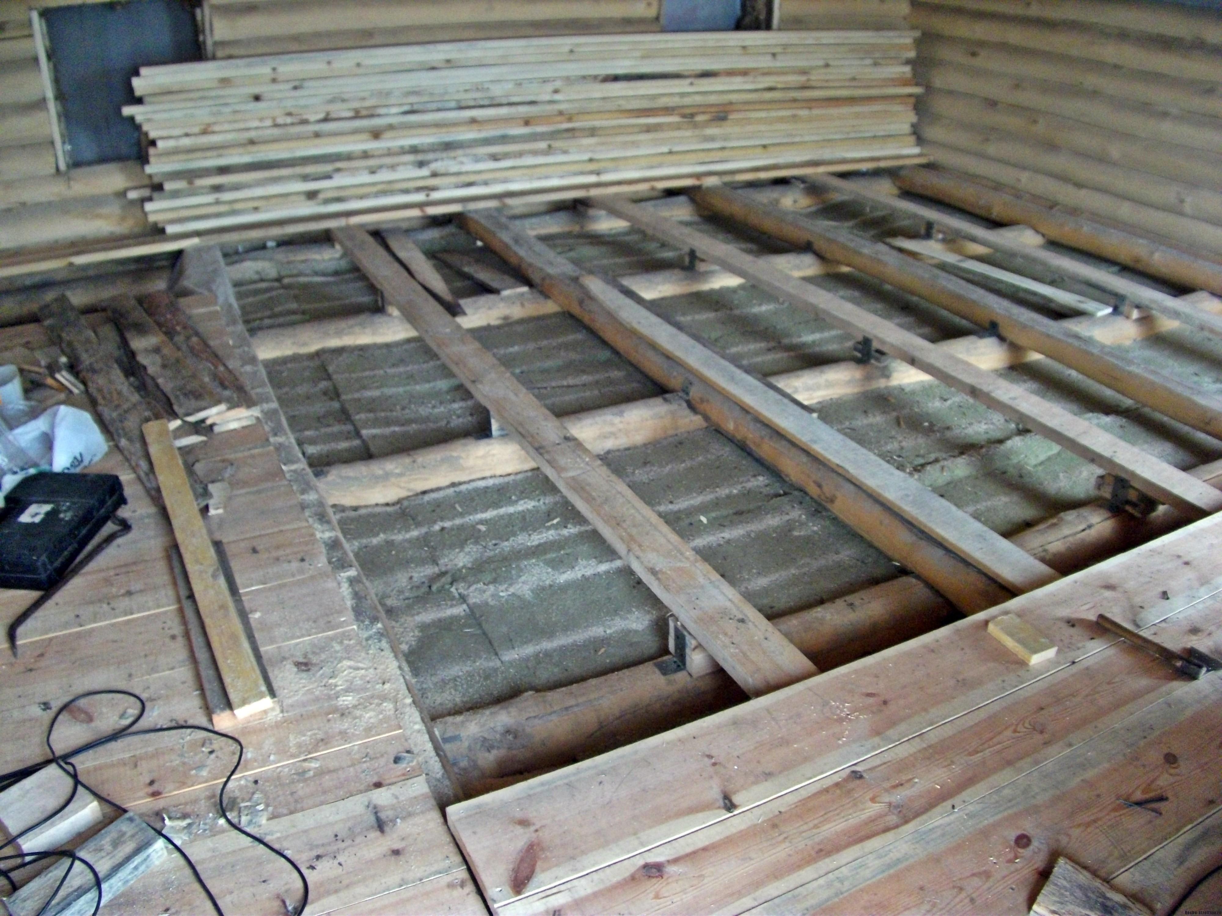 Полы и потолок