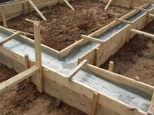 Этапы строительства каркасной бани