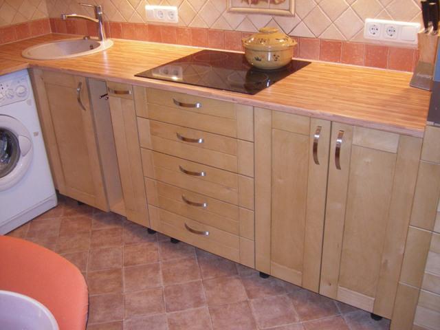 Как сделать кухонный гарнитур своими руками из дерева