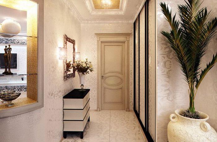 Ремонт узкого коридора