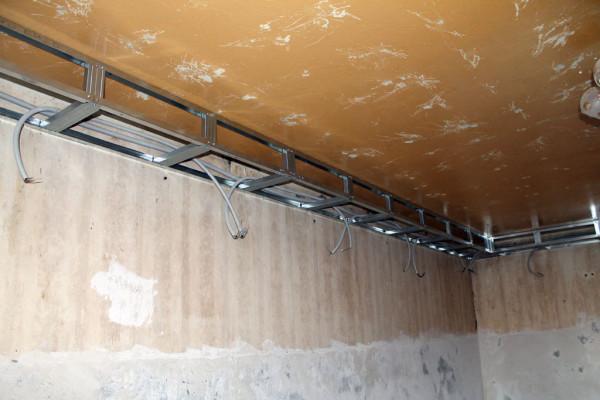 Как сделать на потолке короб 80