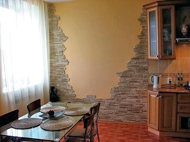 дизайн кухни фото стены