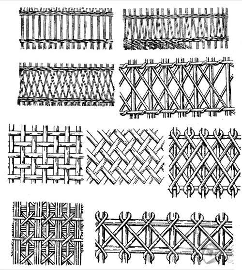 Виды плетений заборов