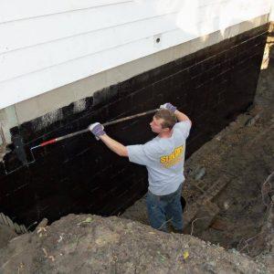 Самостоятельная гидроизоляция фундамента, подвала в частном доме