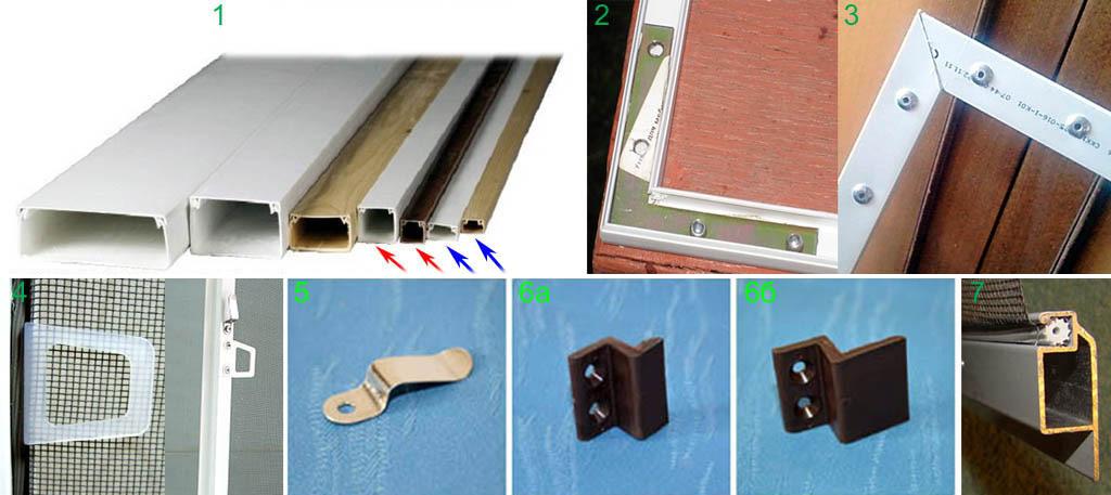 Как сделать москитную сетку для пластиковых окон 728