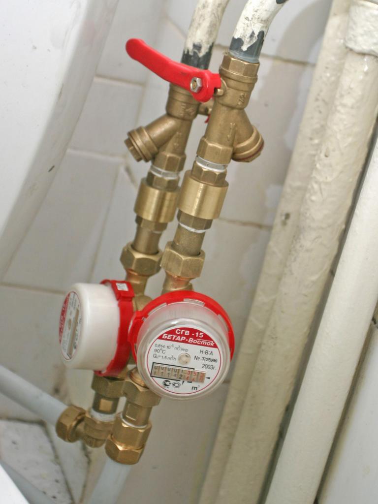 Схема установки водосчетчика в квартире фото 616