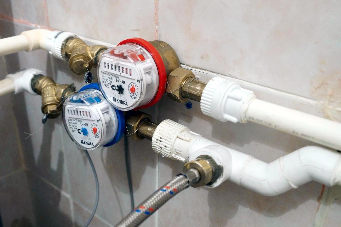 Схема установки водосчетчика в квартире фото 119