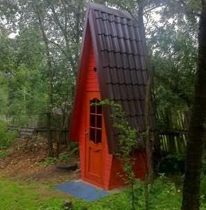 Строительство деревянного дачного туалета