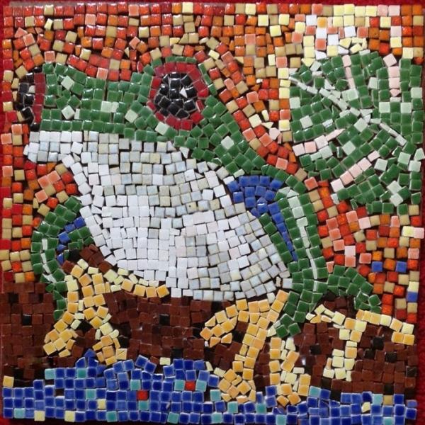 техника мозаика дома