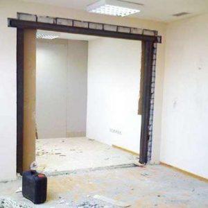 Как отремонтировать трещины на стене внутри комнаты